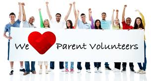 We love our parent volunteers